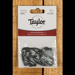 Taylor Premium 351 Thermex Ultra Picks Black Onyx 1.5