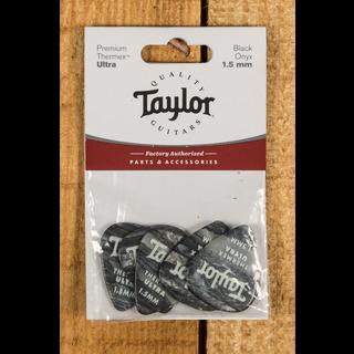 Taylor Premium 351 Thermex Ultra Picks Black Onyx 1.5