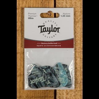 Taylor Premium 351 Thermex Ultra Picks Abalone 1.25