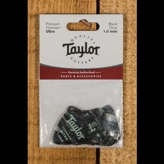 Taylor Premium 351 Thermex Ultra Picks Black Onyx 1.0