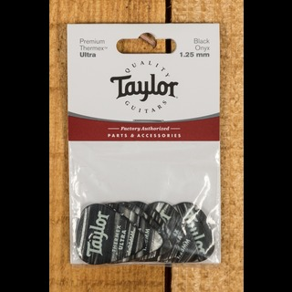 Taylor Premium 351 Thermex Ultra Picks Black Onyx 1.25