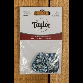 Taylor Premium 351 Thermex Ultra Picks Blue Swirl 1.0