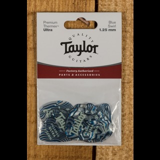 Taylor Premium 351 Thermex Ultra Picks Blue Swirl 1.25