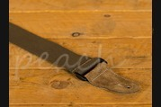 Leathergraft Cotton Web Guitar Strap - Brown