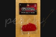 Jim Dunlop Jazz II Red Nylon 6 pack
