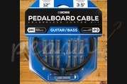 Boss Pedalboard Cable Kit 12ft 12 Connectors