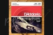 D'addario - 10-23 Medium Nickle Banjo