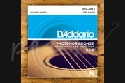 D'addario - 12-53 Phosphor Bronze Light 3-pack