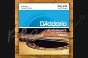 D'Addario - 10-50 American Bronze Strings Light 12 String