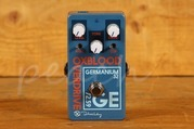 Keeley Oxblood Overdrive Equipped with OC75 Germanium Transistor