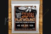 Ernie Ball Slinky Cobalt Flatwound Bass Hybrid 45-105