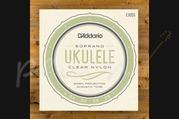 D'addario EJ65S Custom Soprano Ukulele