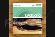 D'addario - 12-54 Medium/Light 85/15 Bronze