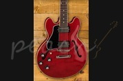 Gibson ES-339 Gloss - Sixties Cherry Left Handed