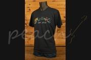 CF Martin Clothing - T Shirt - Tie Dye Logo Charcoal