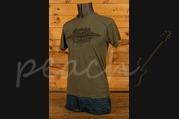 C F Martin Clothing - T Shirt - Americas Guitar Green