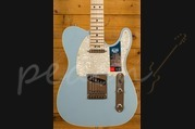 Fender American Elite Tele Maple Satin Ice Blue Metallic