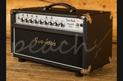 Two-Rock Bloomfield Drive 100/50 Watt Head with Silver Knob Black