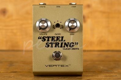 Vertex Gold Steel String Clean Drive Ltd Ed - Peach Guitars