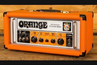 Orange 40th Anniversary Custom 'Cecelia' - Peach Guitars