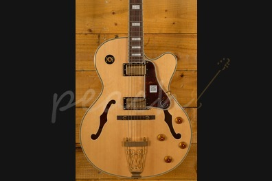 Epiphone Joe Pass Emperor II Natural/Gold - Peach Guitars