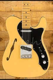 Fender Britt Daniel Tele Thinline Maple Neck Amarillo Gold
