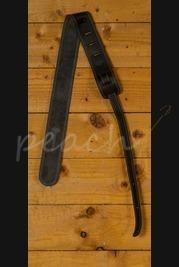 C F Martin Strap - Ball Leather/Suede Black