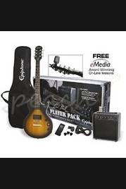 Epiphone Les Paul Player Pack Guitar Package