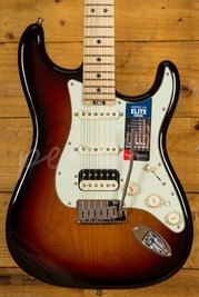 Fender American Elite Strat HSS Shawbucker Maple Neck 3 Tone Sunburst