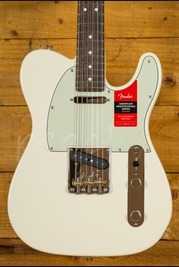 Fender American Pro Tele Olympic White Rosewood