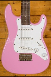 Squier Mini Strat Pink V2