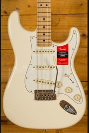 Fender American Pro Strat Olympic White Maple Neck