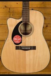 Fender CD-60Sce Natural Left Handed