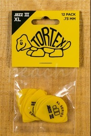 Jim Dunlop Tortex Jazz III XL 12 Pack