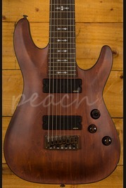 Schecter Omen-8 Walnut Satin