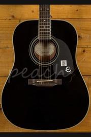 Epiphone PRO-1 Plus Ebony Acoustic Guitar