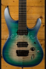 Ibanez SIX6FDFM-BCB Blue Space Burst