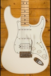 Fender Mexican Standard HSS Strat Arctic White Maple Neck
