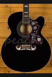 Epiphone EJ-200CE Black with Gold Hardware