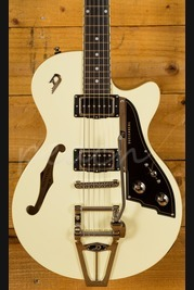 Duesenberg Starplayer TV Vintage White with Hardcase