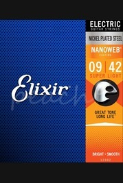 Elixir Electric Nickel Nanoweb Strings