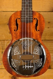 Gretsch G9112 Resonator-Ukulele w/Gig Bag, Natural