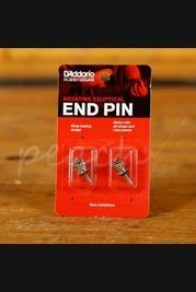 D'Addario Rotating Elliptical End Pin - Chrome