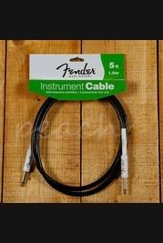 Fender 5ft Instrument Cable Black