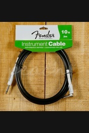 Fender 10ft Angled instrument cable black