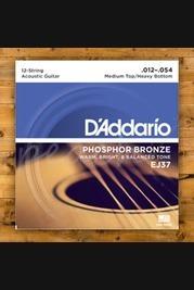 D'Addario EJ37 12 string Medium top/Heavy bottom