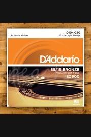 D'addario - 10-50 Extra Light 85/15 Bronze