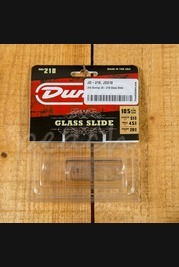 Jim Dunlop JD-218 Glass Slide Medium/Heavy Wall short