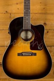 Epiphone AJ-210CE Acoustic Guitar Outfit Vintage Sunburst