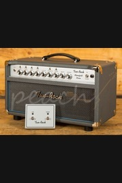 Two-Rock Bloomfield Drive 40/20 Watt Head With Silver Knob Upgrade